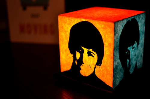 Beatles Mania LED Table Lamp