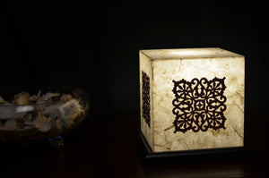 Warm Glow LED Table Lamp