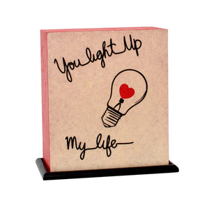 You Light Up My Life LED Table Lamp