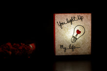 Load image into Gallery viewer, You Light Up My Life LED Table Lamp