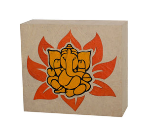 Lotus Ganesh LED Wall Lamp