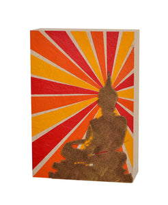 Sunrise Buddha LED Wall Lamp
