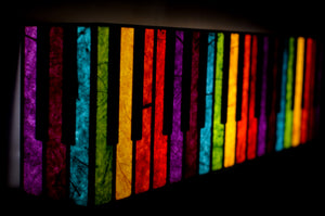 Light Sound Colour LED Wall Lamp