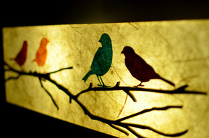 Twitter LED Wall Lamp