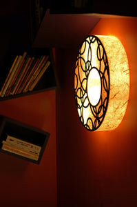Ceiling Feeling Round LED Wall Lamp