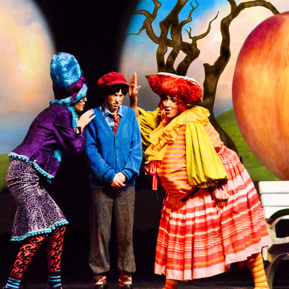James and the Giant Peach with digital theatre projections