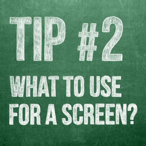 Digital Theatre Projections Tip 2, What to Use for a Projection Screen