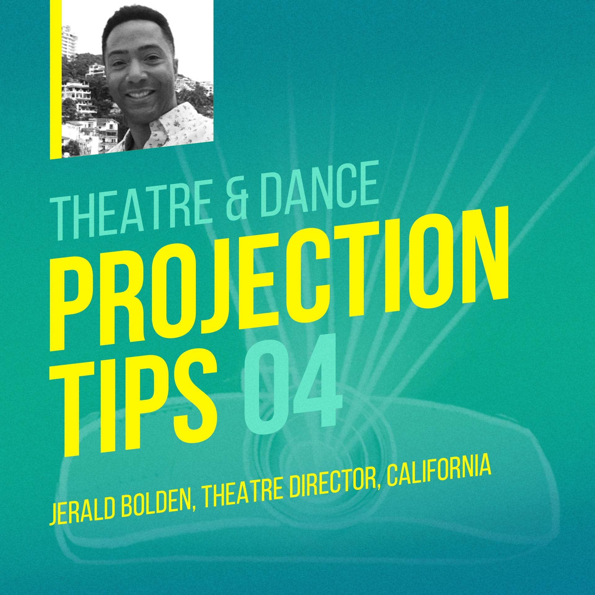 Projection Tip [#4] - Use Simple Tools Creatively