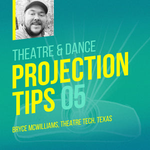 Theatrical tech director Bryce McWilliams from Tyler, Texas.