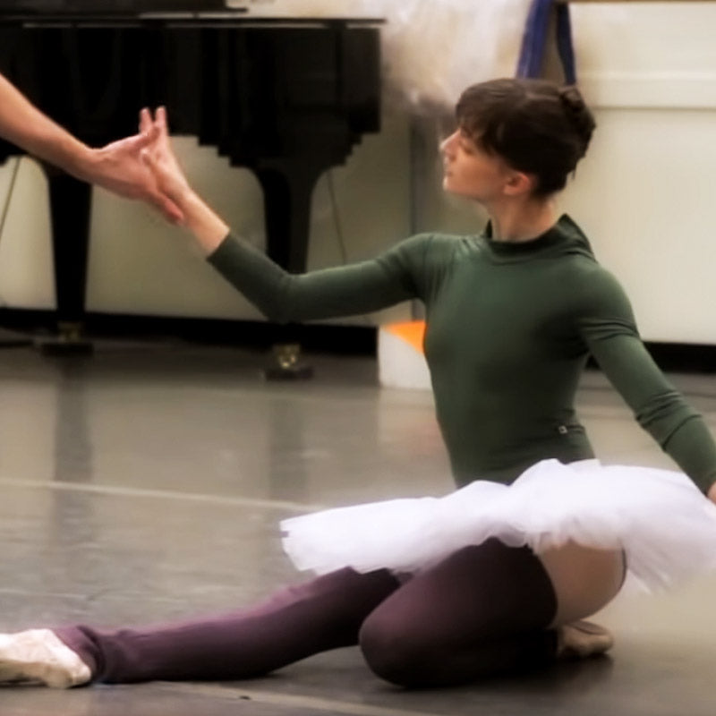 Rehearsal for NYC Ballet performance of Sleeping Beauty