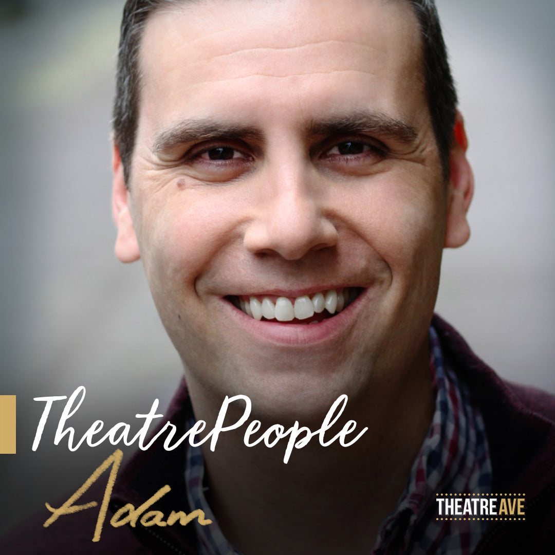 Adam Michael Rose, theatre dialect coach on Mary Poppins, Newsies and The 39 Steps