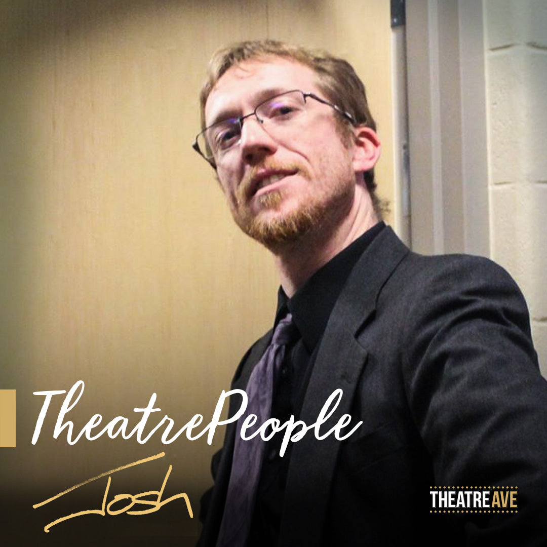 Josh Belk, theatre teacher and director of Little Shop of Horrors and Into the Woods.