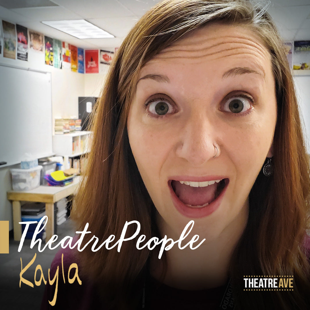 Kayla Diaz, middle school drama teacher and theatre director in Colorado.