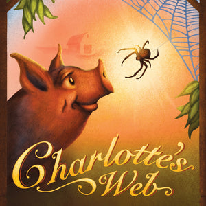 Digital illustration work by Theatre Avenue for Charlotte's Web