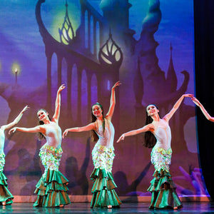 City Ballet version of The Little Mermaid with Theatre Avenue projection backdrops