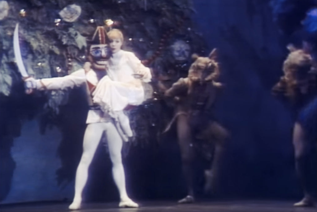 Old film still from Nutcracker ballet