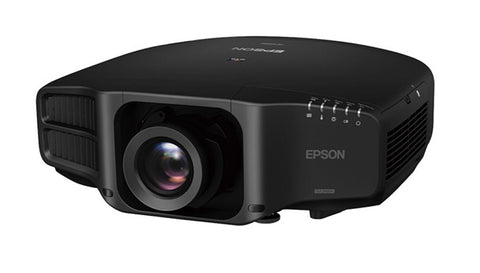 Epson Pro projector for digital theatre projections, has optional lenses including short throw