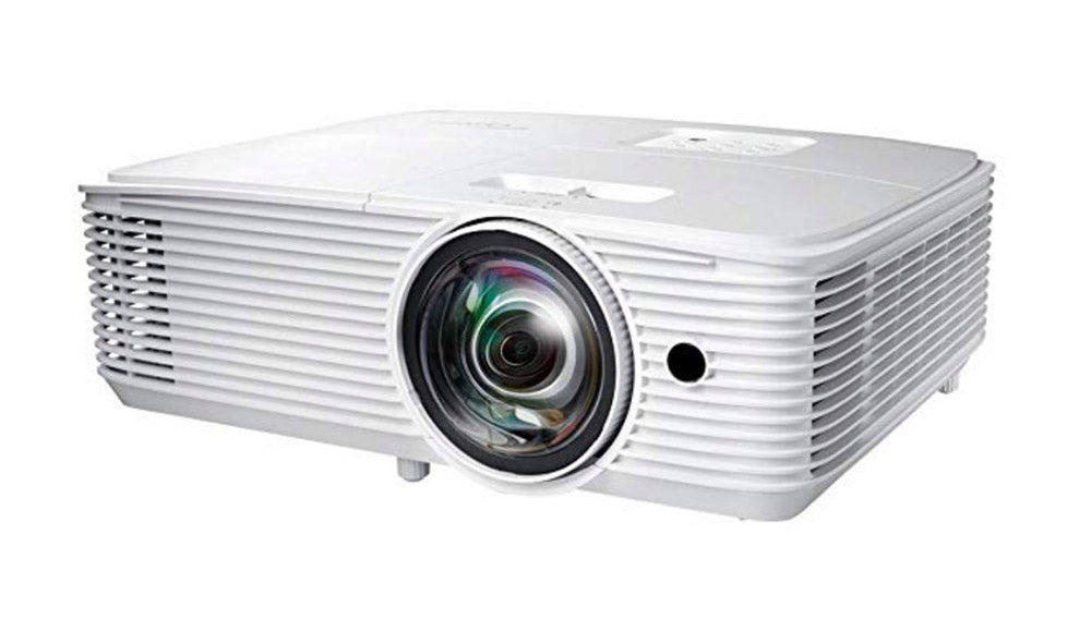 Optoma short throw gaming projector for digital theatre projections