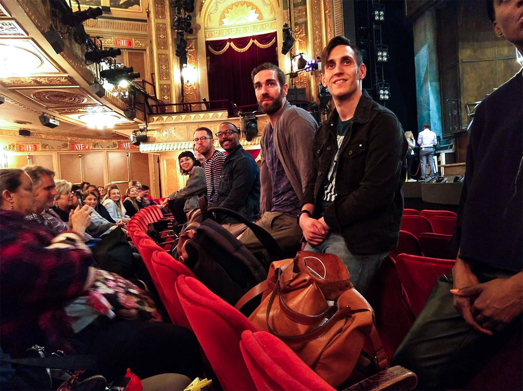 Theatre Avenue experiencing show talk after Hadestown