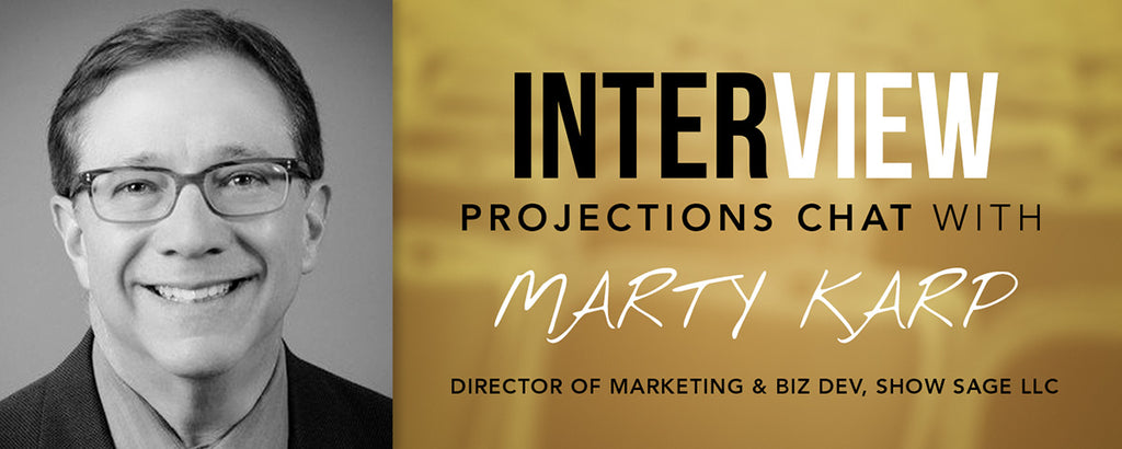 Projection software expert Marty Karp interview