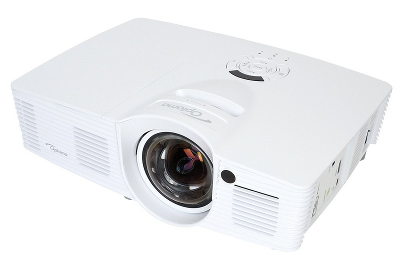 Optoma 1080 gaming projector for scenic theatrical projections