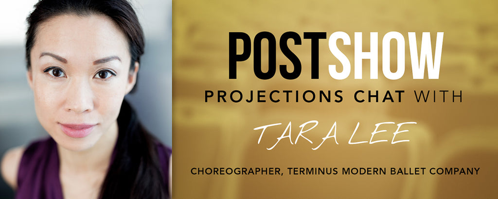 Dancer and show creator Tara Lee discusses use of projections in ballet performance