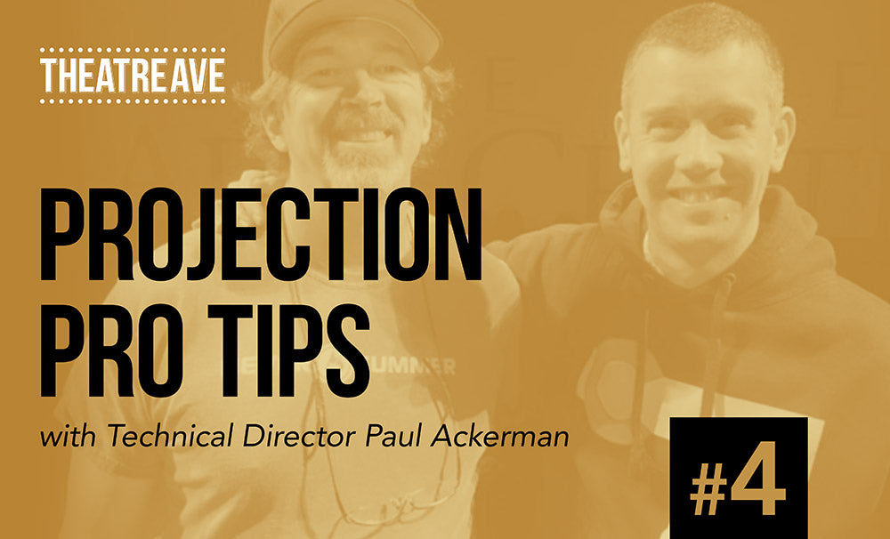 Theatre tech director Paul Ackerman discusses the best manufacturers for digital projections