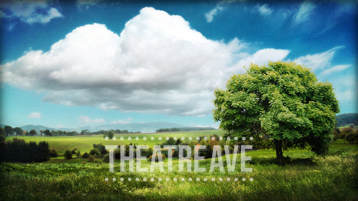 Countryside, a digital projection backdrop for theatre, ballet and dance shows like Shrek, Three Musketeers and beyond