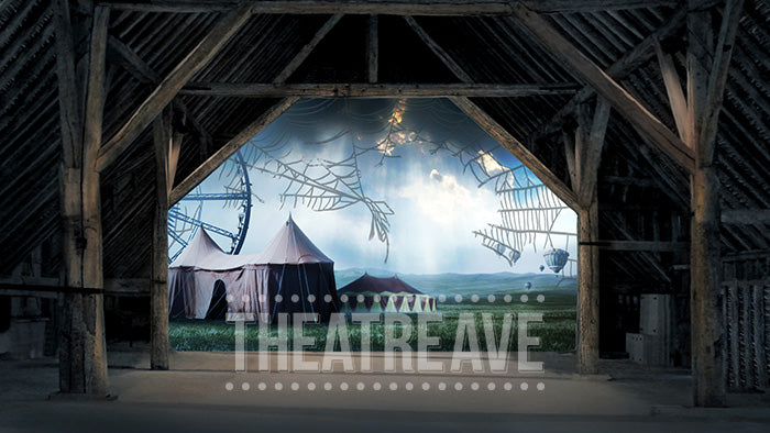 Fair Barn Sad, a theatre projection for school and community productions of Charlotte's Web
