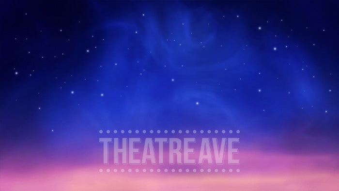 Starry Night, an animated projection backdrop perfect for theatrical shows like Lion King, Shrek, Newsies and Mary Poppins