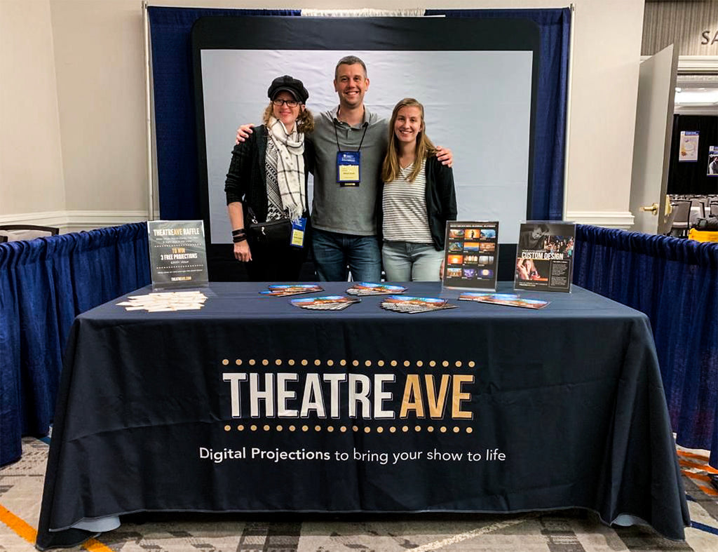 Theatre Avenue team members at EdTA national event in New York City