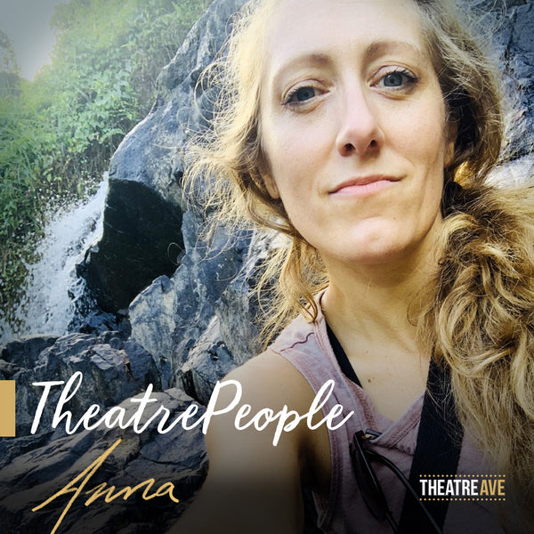 Anna Robb, stage manager and co-founder of TheatreArtLife.