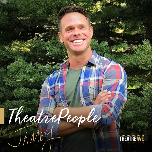 Jamey Grisham, professional theatre actor and storyteller, whose work and awards span the globe.