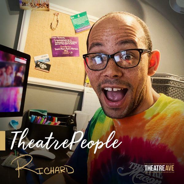 Richard Frazier, theatre and dance educator and artistic director of Theatre Macon.