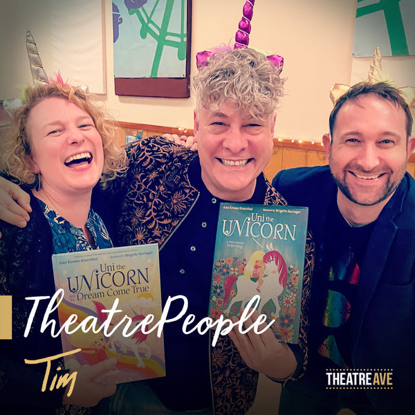 Tim McDonald, theatre educator, playwright, director and founder of iTheatrics.