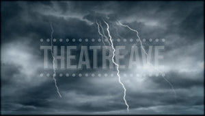 Lightning Storm, an animated projection for shows like Addams Family, Big Fish and beyond.