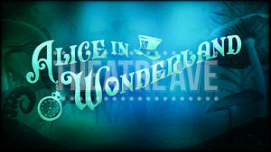Alice in Wonderland Title Projection I
