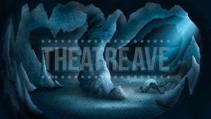 Deep Cave, a scenic projection backdrop perfect for shows like Little Mermaid, Lion King, and Phantom of the Opera
