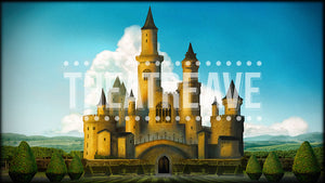 Enchanted Castle, a digital theatre projection backdrop for shows like Alice in Wonderland, Shrek, Beauty and the Beast, and Snow White