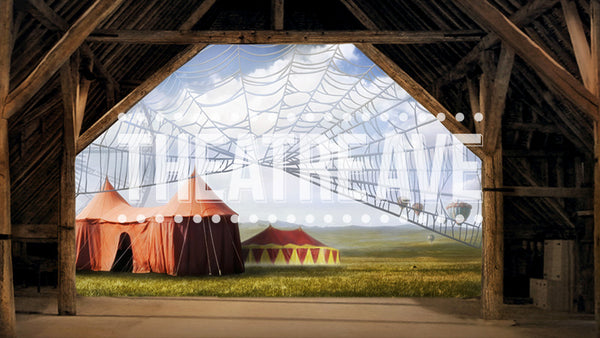 Fair Barn, a theater projection backdrop perfect for stage performances of Charlotte's Web