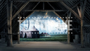 Fair Barn Sad, a digital scenic projection backdrop perfect for theatre and dance shows like Charlotte's Web