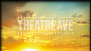 Golden Sunset, a digital projection backdrop perfect for theatre and ballet shows like Big Fish, Color Purple, and Tuck Everlasting