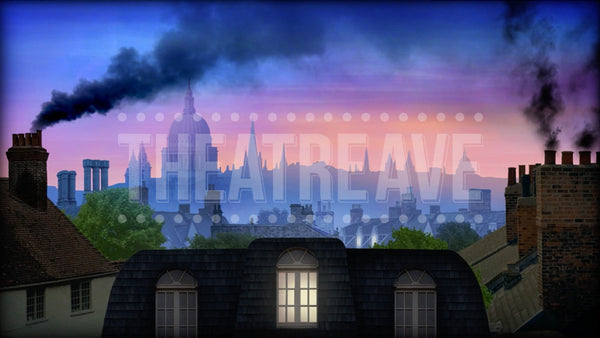 London Rooftops Projection (Animated)