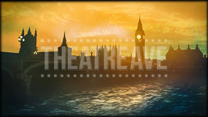 London Sunrise, a digital theatre projection for shows like Mary Poppins, James and the Giant Peach, and Peter Pan