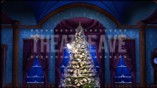 Magic Parlor Tree Grows Projection (Animated)