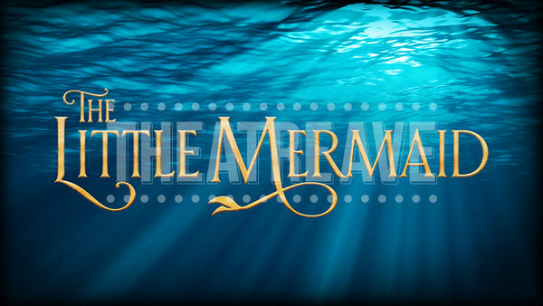 The Little Mermaid Title Projection (Animated)