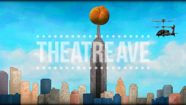 NYC Peach Attack Projection (Animated)