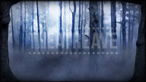 Night Forest, a digital theatre projection backdrop perfect for shows like Big Fish, Sleepy Hollow, and Wizard of Oz