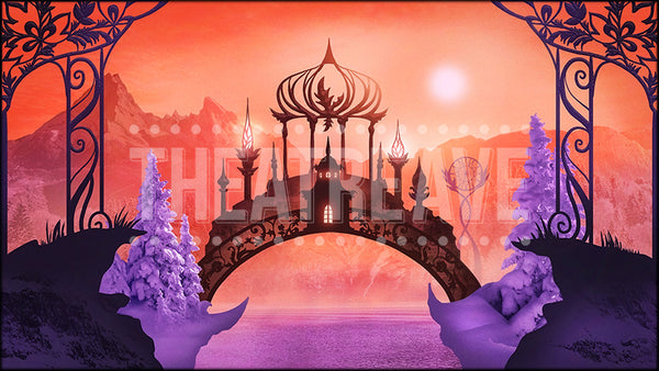Nutcracker Kingdom, a digital projection backdrop perfect for theatre and ballet shows.