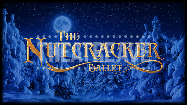 Nutcracker Ballet Title Projection (Animated)